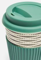 Excellent Housewares - Bamboo mug - green