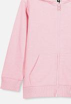 Cotton On - Sunny zip through hoodie - marshmallow marle