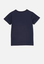Cotton On - Stevie short sleeve embellished tee - navy