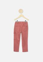 Cotton On - Commander cargo pant - henna