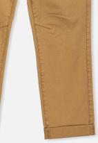 Cotton On - Roller chino - golden brown