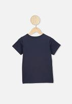 Cotton On - Lux short sleeve tee Mickey Mouse - navy