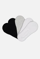 Cotton On - Kids no show sock 5 pack - multi