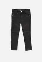 Cotton On - Carrie moto jean - washed black