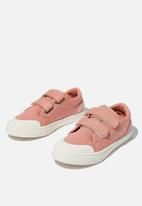 Cotton On - Multi strap trainer - dusty pink