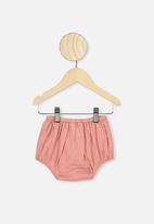 Cotton On - Tia woven bloomer - dusty pink