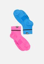 Nike - Nike sneaker sox - pink & blue