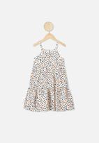 Cotton On - Mackenzie sleeveless dress - dark vanilla
