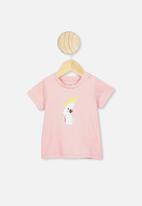 Cotton On - Jamie short sleeve tee - zephyr/cockatoo