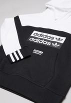 adidas Originals - Hoodie - black & white