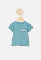 Cotton On - Jamie short sleeve tee - blue