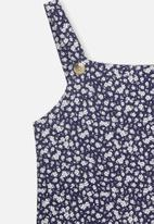 Free by Cotton On - Pini dress - navy & white