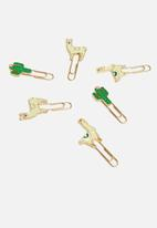 H&S - Paperclip set - multi