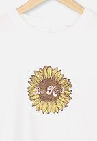 Free by Cotton On - Lulu short sleeve T-shirt - white