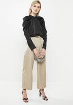 Vero Moda - Jarrow long sleeve blouse - black
