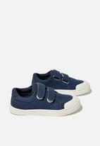 Cotton On - Multi strap trainer - vintage navy