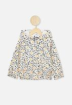 Cotton On - Macy lightweight jacket - leopard daisy
