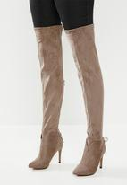 Miss Black - Belle 4 boot - taupe