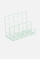 H&S - Wire letter sorter - green