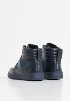 Rebel Republic - Teen boys lace hi top sneaker - navy