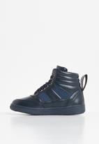 POP CANDY - Lace hi top sneaker - navy