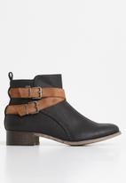 Miss Black - Abir 2 boot - black