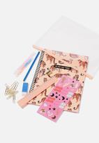 Typo - A4 stationery kit - peach
