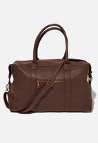 Typo - Nuevo overnighter bag - brown