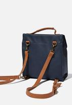 Typo - Buffalo satchel backpack - navy