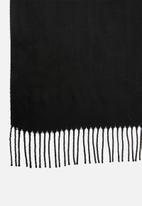 edit - Infinity scarf - black