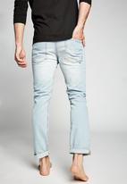 Cotton On - Tapered leg jean - ohio blue