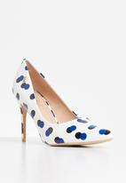 Miss Black - Alipa heel - blue