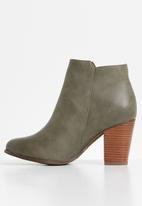Miss Black - Ahlam boot - grey