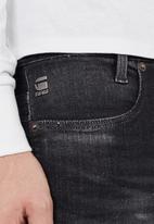 G-Star RAW - D-staq 5-pkt slim jeans -Elto black superstretch