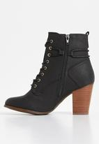 Miss Black - Ahlam 2 boot - black