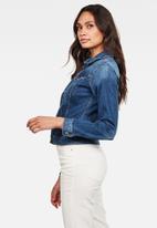 G-Star RAW - 3301 Slim jacket - blue