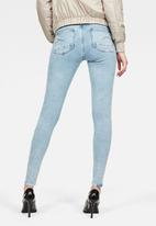 G-Star RAW - Lhana high super skinny stretch - blue