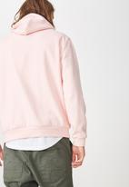 Factorie - Basic hoodie - strawberry cream