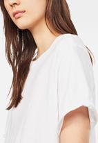 G-Star RAW - Lash fem loose short sleeve tee - white