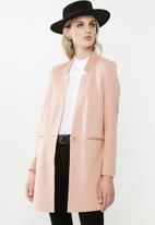 Vero Moda - June long blazer - pink