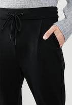 Vero Moda - Eva mr loose string pants - black