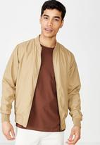 Cotton On - Resort bomber jacket - tan