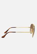 Ray-Ban - Ray-ban 0rb3689 - clear gradient brown