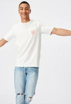 Cotton On - Note you art  T-bar T-shirt - white