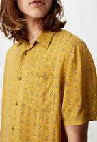 Factorie - Resort shirt - yellow