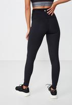 Cotton On - Active high waist core 7/8 tight  - black