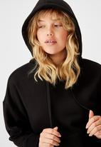 Factorie - Relaxed hoodie - black