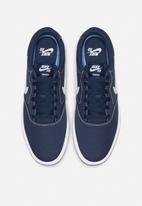 Nike - SB Charge Canvas - midnight navy / white