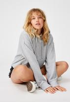 Factorie - Relaxed hoodie - grey