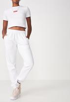 Factorie - Classic trackpants - white